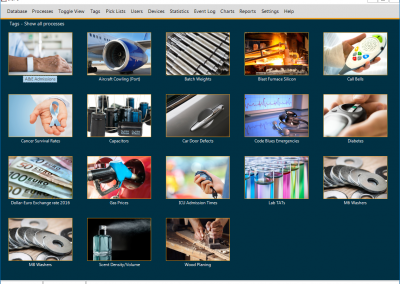 InSPC+ Main Screen